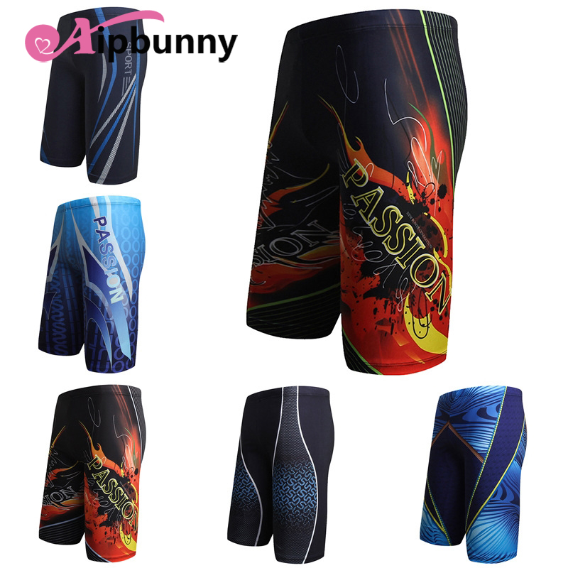Aipbunny Printed Surfing Trunks Pants Anzug Herr Swimsuit Men Swimwear Shorts Men Boxer Sunga Masculina Swimming Bathing Trunks