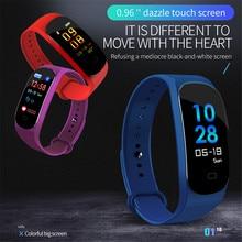 Купить с кэшбэком New M5 Smart Sport Bracelet Fitness Tracker Heart Rate Sleep monitoring Blood Pressure Wristband Support Waterproof Smart Watch