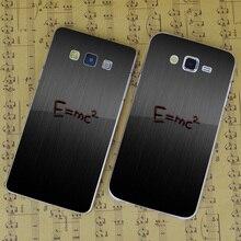 B2917 Physics E Mc X Mc Transparent PC Hard Case Cover For Samsung Galaxy J 3 5 7 A 3 5 7 8 9 2016 GRAND 2 PRIME