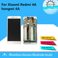 Original LCD Screen Display Touch Panel Digitizer With Frame For 5 0 Xiaomi Redmi 4A Hongmi