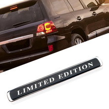 New Limited Edition Logo Car Body Trunk Side Emblem Badge Auto Car sticker Decals For Toyota Land Cruiser 200 FJ Cruiser Luxury premium x resin 1 43 volvo 144s 1967 black prd245 models car limited edition auto collection