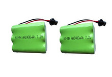 2pc 7 2v battery 2400mah ni mh bateria 7 2v nimh battery pilas recargables 7 2v