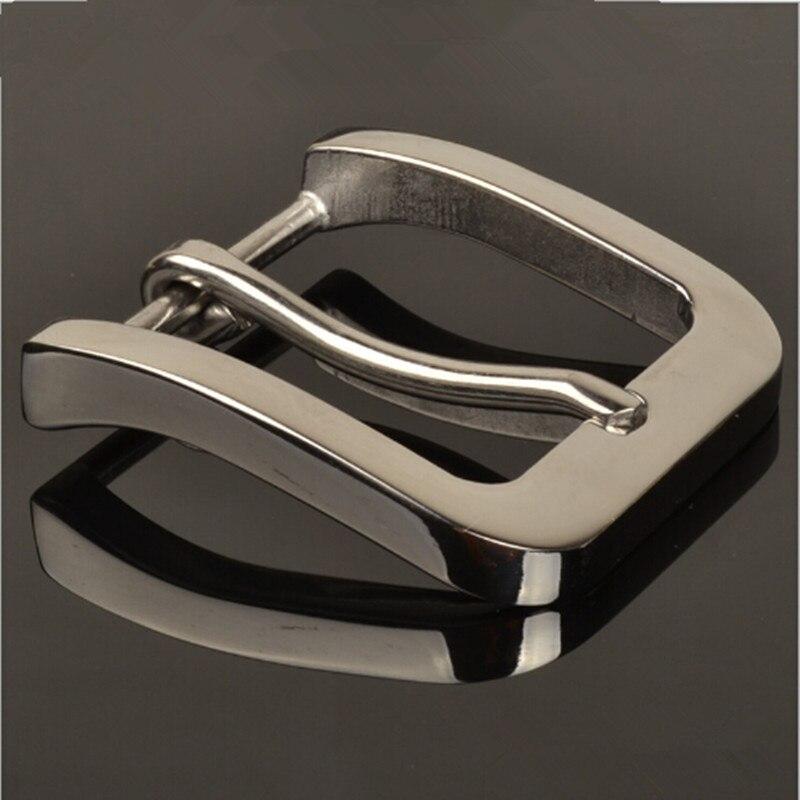 Розничная продажа Хит продаж высокое качество 58*53 мм нержавеющая сталь Для мужчин пряжки ремня для 4 см широкий пояс моды для мужчин S Джинсы ...