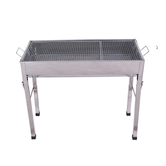 Stainless Steel Grill Portable Folding Charcoal Bbq Barbecue For Outdoor 5 12 Person