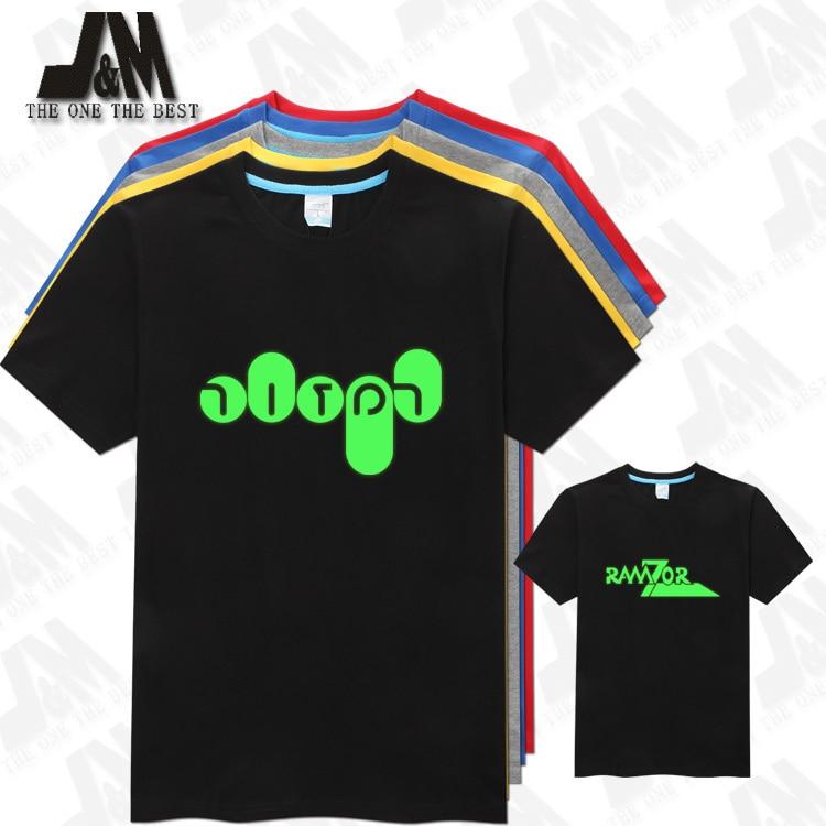 Ramzor Israeli sitcom Traffic Light Hebrew Israel T Shirt Glow T-shirt 5 Colors S-6XL