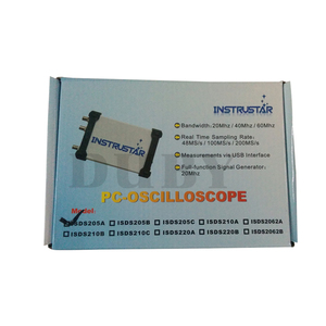 Image 5 - MDSO ISDS205A חדש שדרוג 3 ב 1 רב תכליתי 20M מחשב USB וירטואלי הדיגיטלי Oscilloscop + מנתח ספקטרום + נתונים מקליט