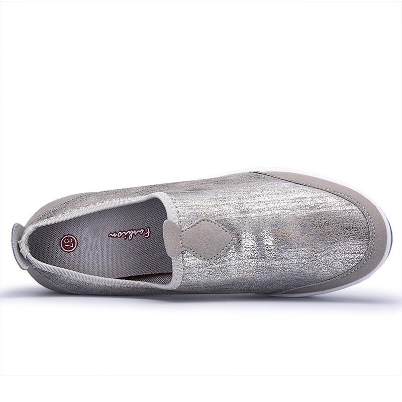 41 Confortable Grande sand Mujer Color La Plate Chaussures Casual Sur Femmes Mode Noir Zapatos Plat forme Glissement Mocassins Wdzkn Taille 35 q4TYw6H