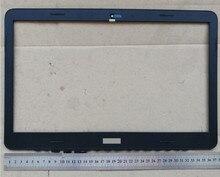 Novo portátil lcd frente moldura da tela de cobertura com logotipo para dell inspiron15 7547 7548 dpn 0v32tg 15.6