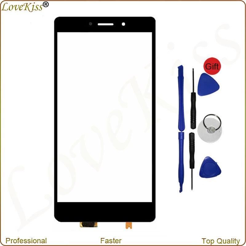 Pannello frontale Digitalizzatore Per Huawei Honor 6X BLN-L24 L21 L22 AL10 Sensore Touch Screen Esterno Obiettivo di Vetro di Ricambio Display Toolkit