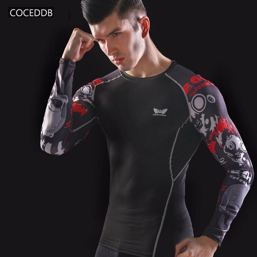 Camisas de compresión para hombre Piel ajustada térmica bajo mangas - Ropa de hombre - foto 2