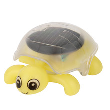 Дополнительно Мини солнечной энергии милый черепаха гаджет подарок развивающие игрушки для детей цвета Горячая A521