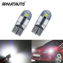 2x T10 W5W LED Wedge Light Marker Lamps Bulb For Focus 2 1 Fiesta Mondeo 4 3 Transit Fusion Kuga Ranger Mustang KA S-max