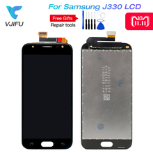 Amoled For Samsung Galaxy J3 2017 LCD J330F J330G Display Touch Screen Digitizer pro