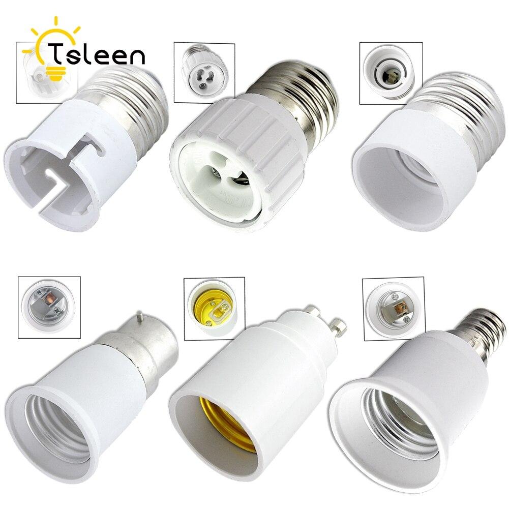 Lights & Lighting Eeetoo Lamp Holder Bulb Bases Converter Socket E27 For Led Light Adapter E14 To E27 E14 To B22 Fireproof Material Lamp Base G9 2019 Official