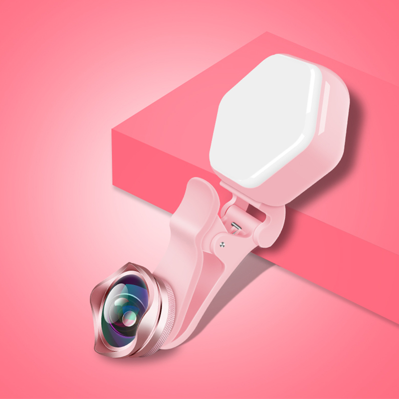 Mobile Camera Lens for iPhone 6s 6 5s Portable Selfie LED Fl