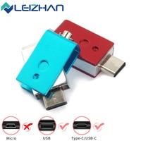 LEIZHAN USB C Flash Drive 64 gb TYPE-C Pendrive USB 3.0 Fast Speed Pen Drive 16GB 32GB S10 S9 S8 Tipo C Memoria USB Stick