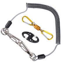 Fly Fishing Landing Trout Net Magnetic Net Release Holder Buckle with Cord