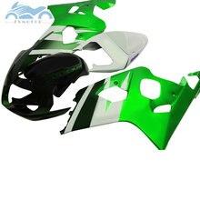 Upgrade ihre Verkleidungen kits für SUZUKI GSXR600 R750 2004 2005 ABS motorrad verkleidung kit 04 05 GSXR750 GSXR 600 K4 k5 grün weiß