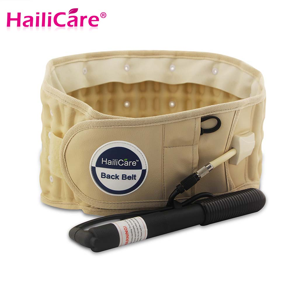 product HailiCare Back Relief Belt Air Decompression Waist Lumbar Back Belt Support With Hand Air Pump Back Pain Release Health Massager