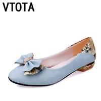 Vtotaハイヒールパンプス女性セクシーな蝶の結び目夏の靴女