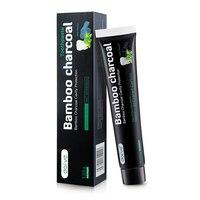 1 Новинка, Бамбуковая зубная паста, отбеливающая зубная паста, угольная гигиена полости рта зубной пасты, отбеливающая зубная паста