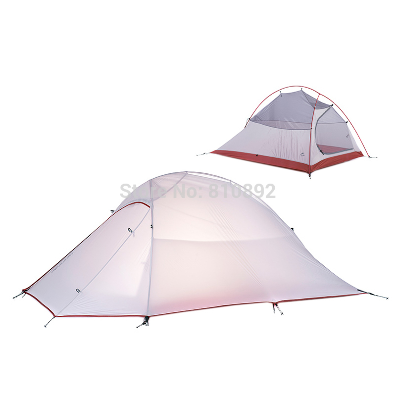 font b Naturehike b font 2 person Camping Tent Silicone Fabric Waterproof Tent Ultralight Lightweight
