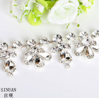 SINUAN Strass Chain Sew On Cristais Yard Crystal Decoration Tape Stones And Crystals For Crafts Glass Garment Diy Rhinestones