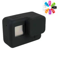 2016 NEW Gopro Hero5 Accessories Rubber Silicone Camera Case with Lens Protection Cap for Gopro 5 hero 5 action camera