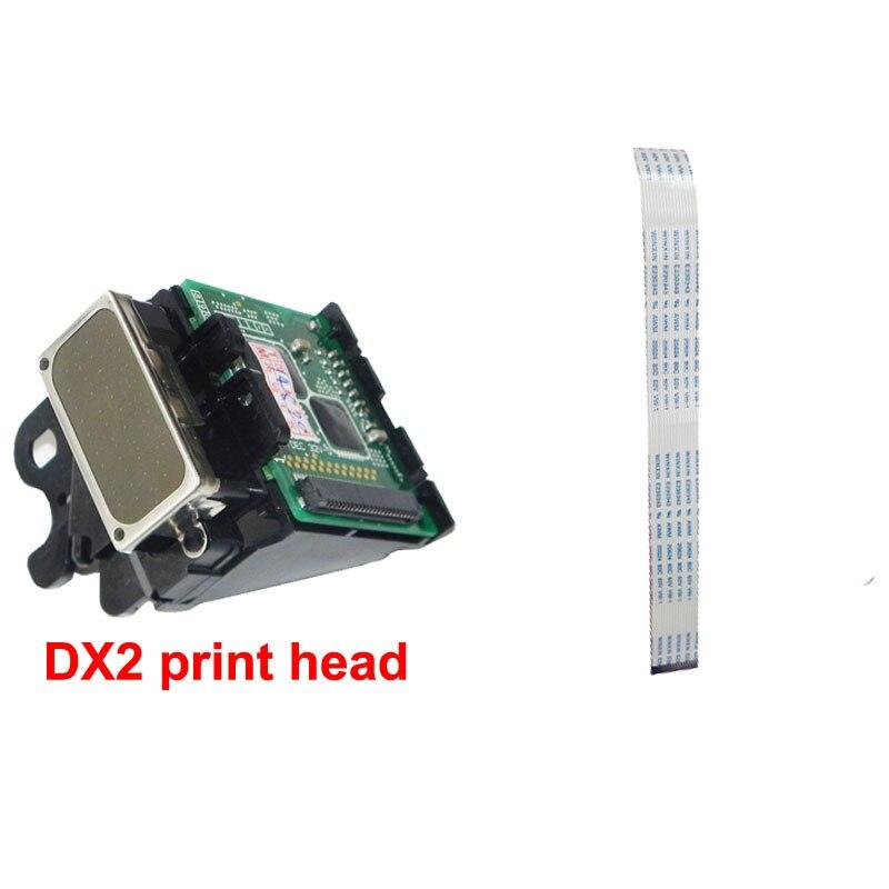 Original DX2 Print head for Epson 1520k pro9500 7000 3000 for roland SJ500 SJ600 9000 with 1 pcs Prtinthead Line for Free for epson dx2 print head color genuine mimaki jv2 roland fj40 42 mutoh for epson pro 3000 7000 7500 9000 9500etc