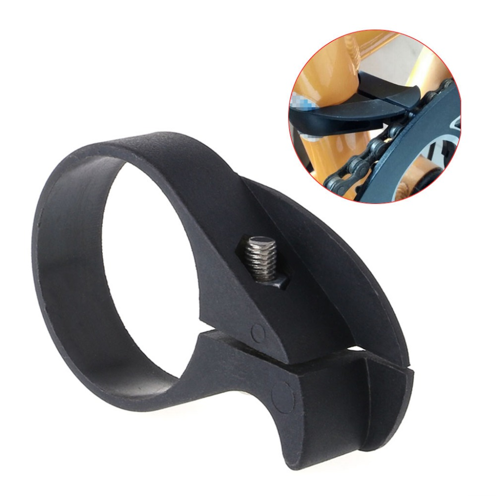 Bicycle Chain Anti Fall Guard Protector Chainwheel Adjustable Anti Block Folding Bike in Protective Gear from Sports Entertainment