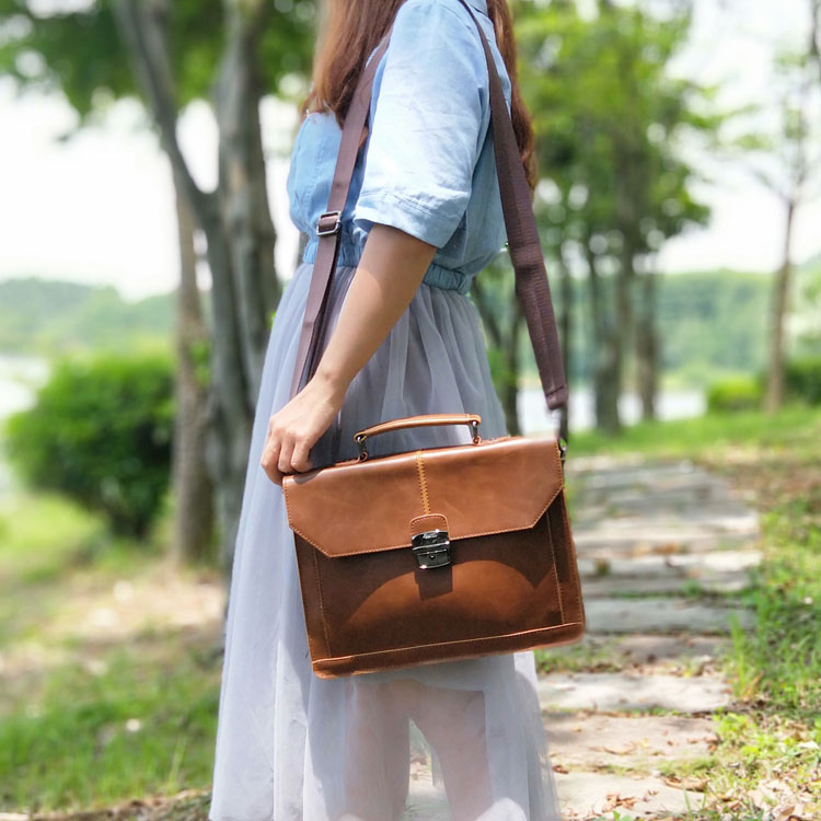 Vintage England Style Women Bag Horizontal Literary Girls' Handbag Fashion Shoulder Messenger Bag Dress OL Casual Briefcase