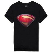 2016 New High-Quality Designer Famous Brand 3d Printed Size M-XXXL Cotton Superman Causul Men's Wear T-Shirt Hip Hop