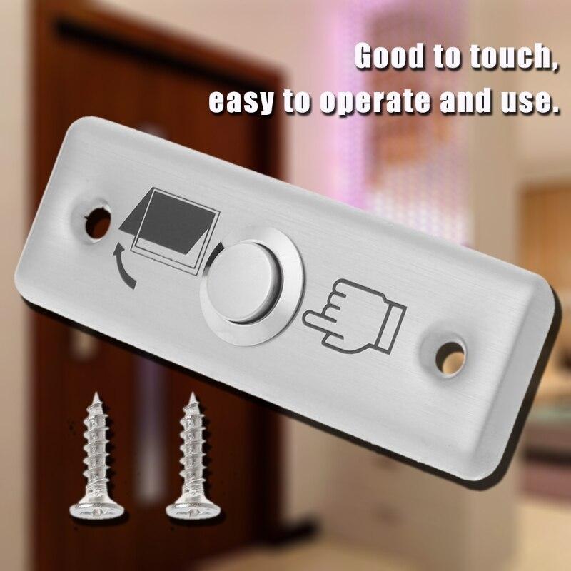 Bouton poussoir ouvert de serrure de porte de panneau de commutateur de sortie dacier inoxydable commodeBouton poussoir ouvert de serrure de porte de panneau de commutateur de sortie dacier inoxydable commode