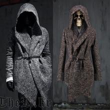 Новый Авангард мужская Мода Топы Куртка Верхняя Одежда Гуд Кабо Пальто Для Мужчин Теплый Плащ Одежда SZ M-2XL