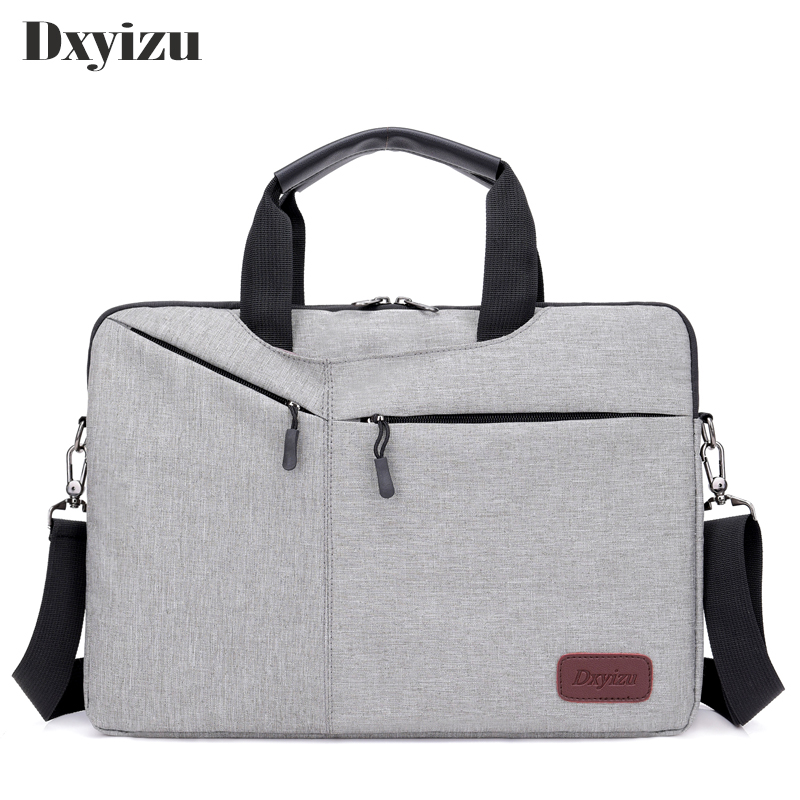 New Men 14 Inch Laptop Briefcase Bag Handbag Women Nylon Briefcase Men's Office Bags Business Computer Bags Travel Notebook Ba