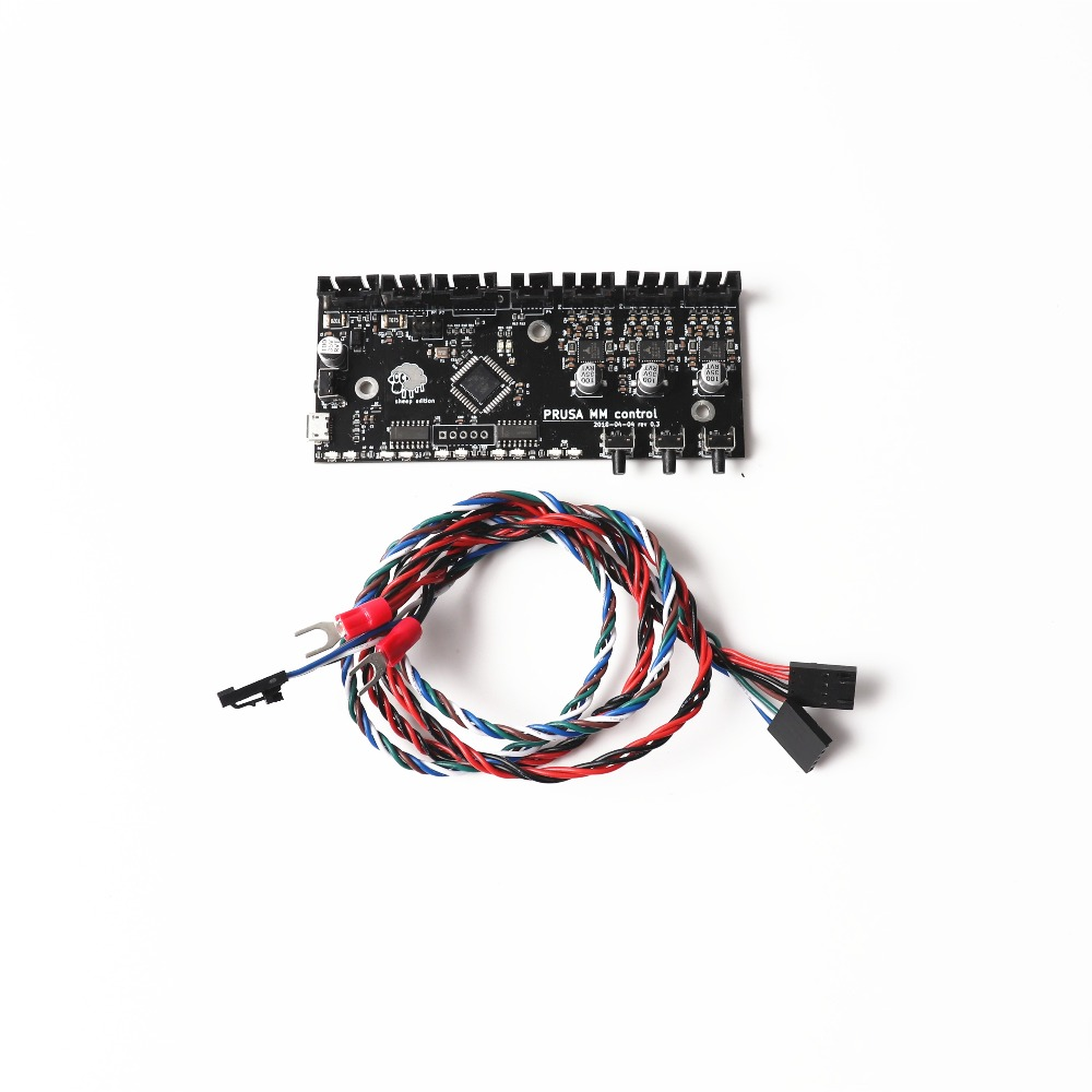 Prusa i3 MK2.5/MK3 Multi Materials 2.0 control board,with power cable and signal cable Blurolls