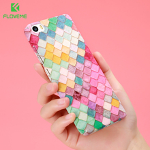 KISSCASE For Xiaomi Mi5 Case Mi6 Fashion Lovely 3D Scales Hard PC Plastic Phone Cases Cover Coque