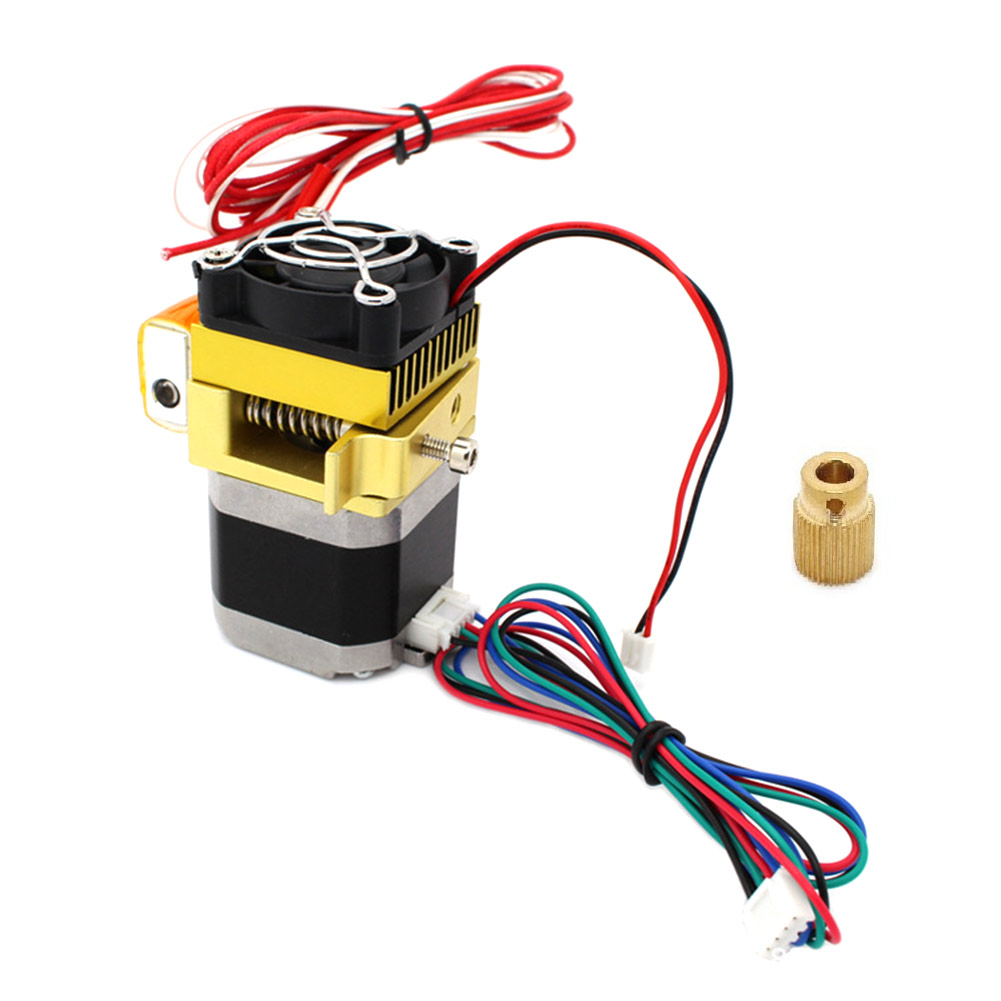 Upgrade Extruder 0.4mm Nozzle Latest Print Head for 3D Printer ALI88 3d printer head latest upgrade mk8 j