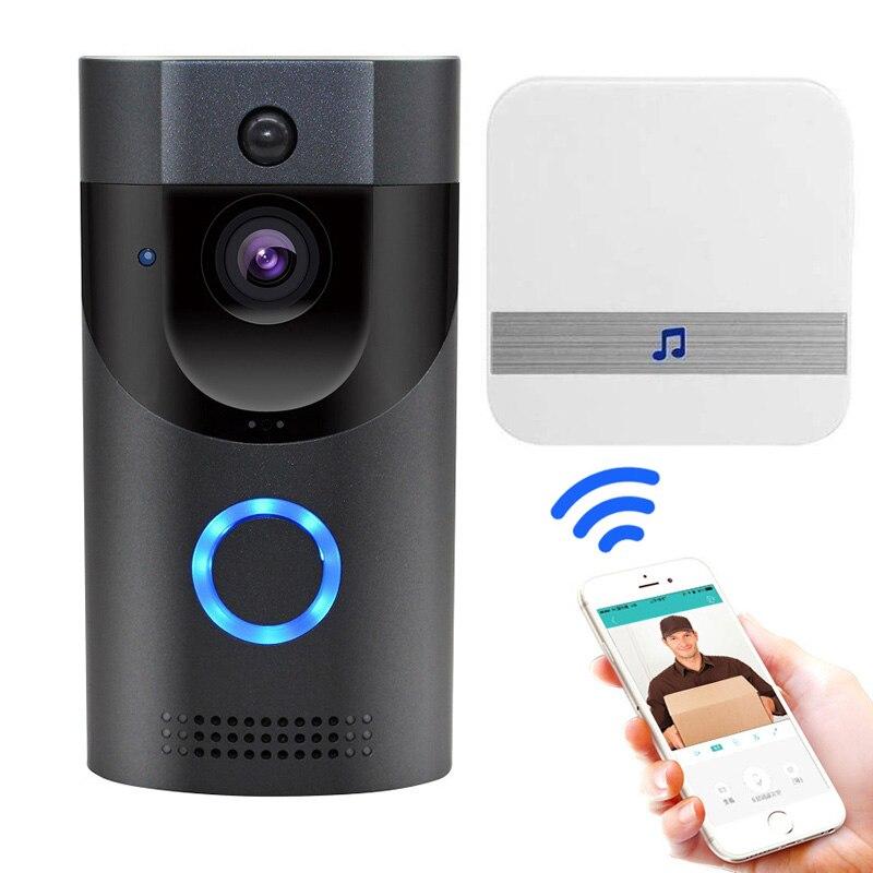 все цены на Smart Visual Doorbell Peephole Viewer IR Wifi Infrared Night Vision Security Door Eye LCC77