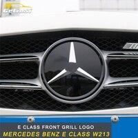 GELINSI переднего бампера логотип спереди Гриль логотип Накладка аксессуары для Mercedes Benz E Class W213 авто