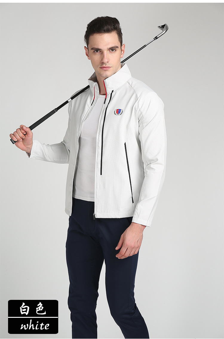 Everio Men's Golf Jacket Outdoor Sport Jacket Windbreaker Top Quality Golf Dust Coat 5Colors видеокамера jvc everio gz r415weu white
