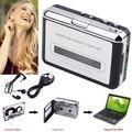 Cinta de Cassette portátiles Viejos CD Convertir a MP3 WAV Converter Cassette Para USB de Captura de Audio Walkman Reproductor de Música con Auriculares