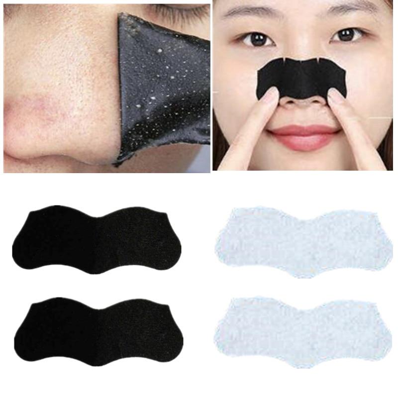 10pcs Nose Skin Care Black Mask Deep Cleansing Blackhead Remove Strawberry Treatment Face Masks Sticker Clear Black Head tool