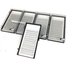 Extensão de cílios 3d 5 bandejas, volume de alta qualidade, 100% artesanal, cílios individuais, naturais, frete grátis