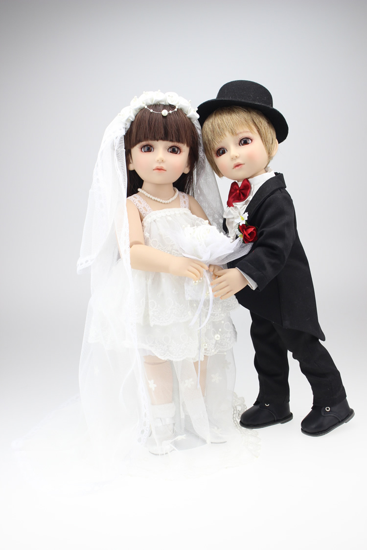 Toys For The Honeymoon : Aliexpress buy fashion quality sd bjd wedding dolls