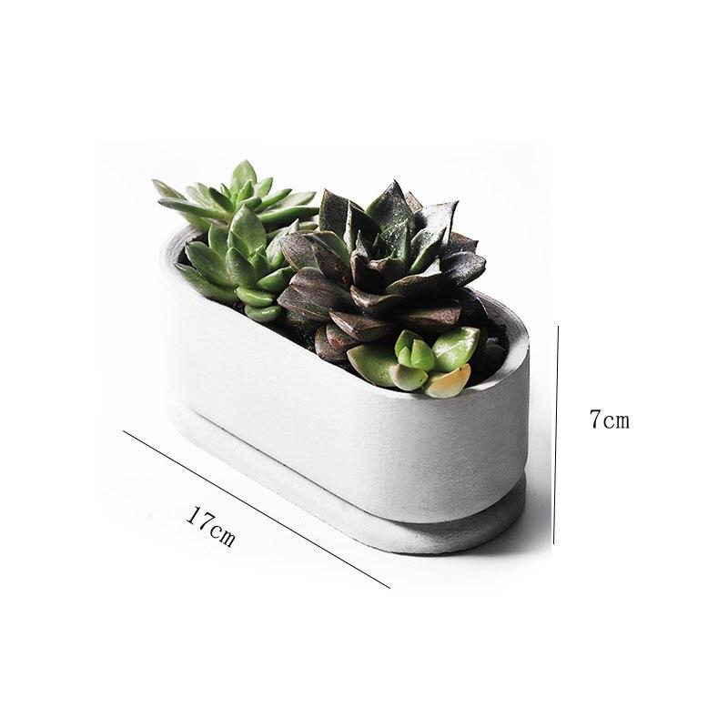Silicone Mold For Flower Pot Garden Planter Silicone Mold 3d Geometric Cement Flower Pots Decorations Mould Wholesale