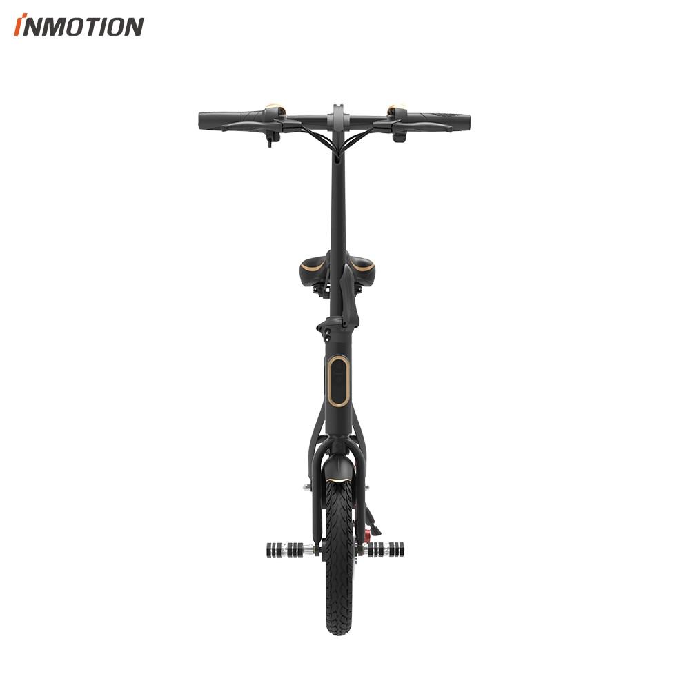 INMOTION E BIKE P1F складной электрический скутер мини стиль IP54 приложение поддерживается 30 км/ч Электронный велосипед - 6