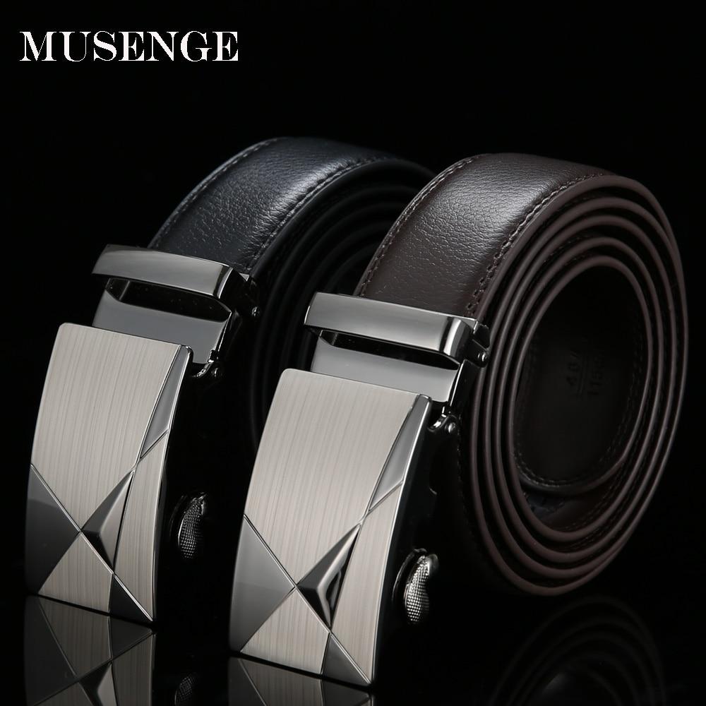 [MUSENGE] Ζώνες σχεδιαστών δερμάτινων ζωνών Άνδρες Υψηλής ποιότητας ζώνες για άνδρες Ceinture Homme Luxe Marque Cinturones Hombre Cinto Luxury Riem