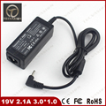 Welcome Bulk Order High quality 19V 2.1A 40W 3.0*1.0mm AC Adapter Power Charger For Samsung NP530U3B NP535U3C laptop adapter