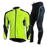 Haute Qualité Étanche Coupe-Vent Équitation Composite Polaire Veste cyclisme définit hiver cyclisme costume jersey ensembles pour hommes